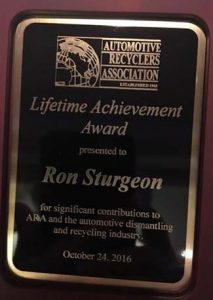 ARA Lifetime Achievement Award